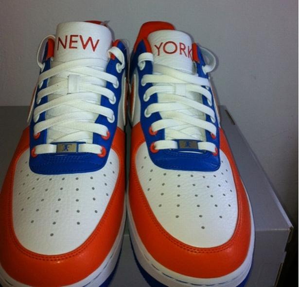 "Nike Air Force 1 Bespoke ""New York"" All Day"