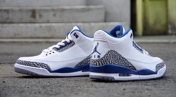 Air Jordan 3 Retro True Blue
