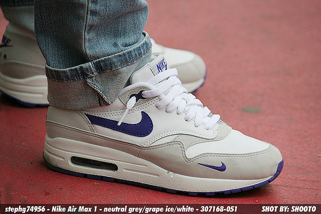 Nike Air Max 1 Grape – Fiche Air Max 1