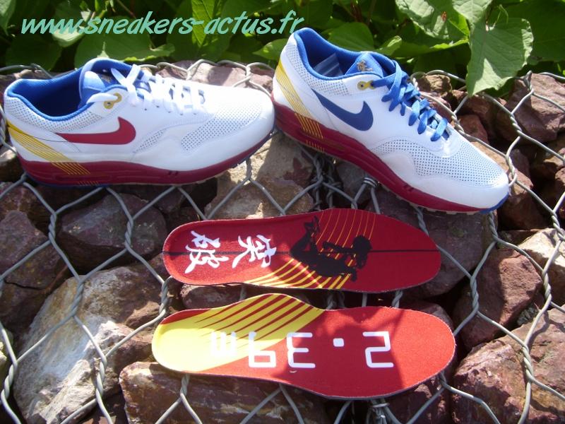 Chaussures Nike Air Max 1 (1987) BT China 1984 Zhu Olympics