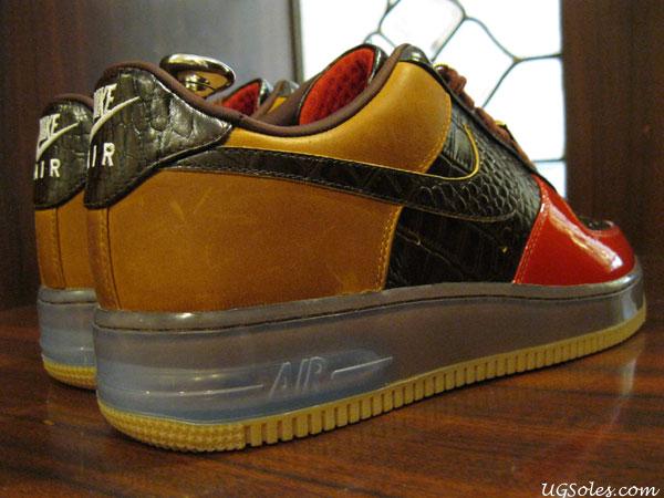 "Nike Air Force 1 Bespoke ""Lux Bison"""