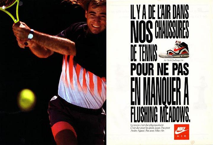 Publicité Nike Air tech Challenge