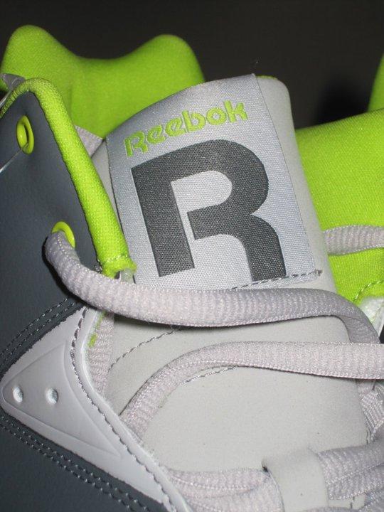 Reebok Kamikaze 3 (III)  Mid NC (rivet grey / steel / green) x Swizz Beatz
