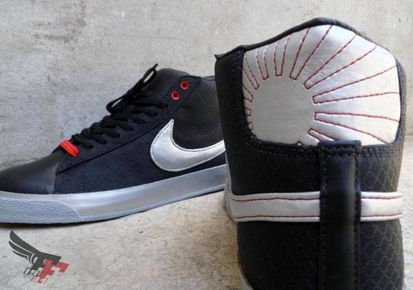 "Nike Blazer ""Rising Sun"" (soleil levant) par Fresh & Fly"