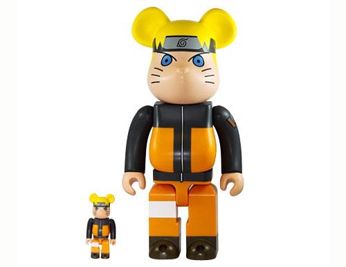 Toys Bearbrick Naruto 400% & 100%