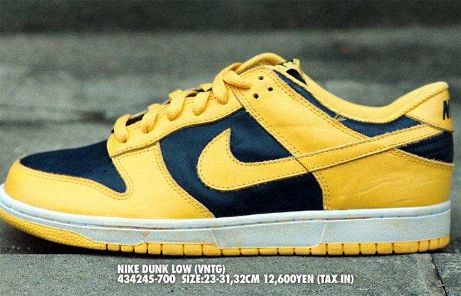 Nike Dunk Low Vintage