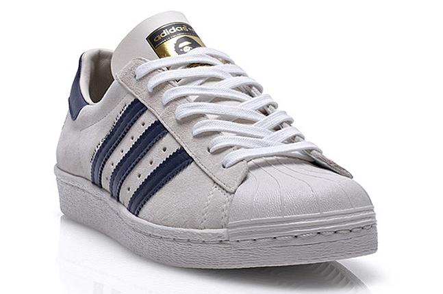 Bape x Adidas Superstar 80's B sides