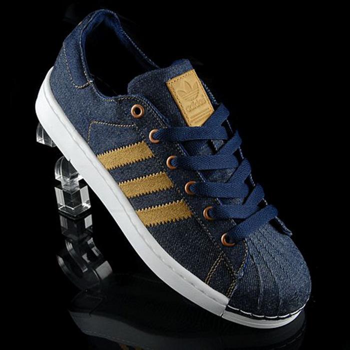 Adidas Superstar Lite Denim Gold