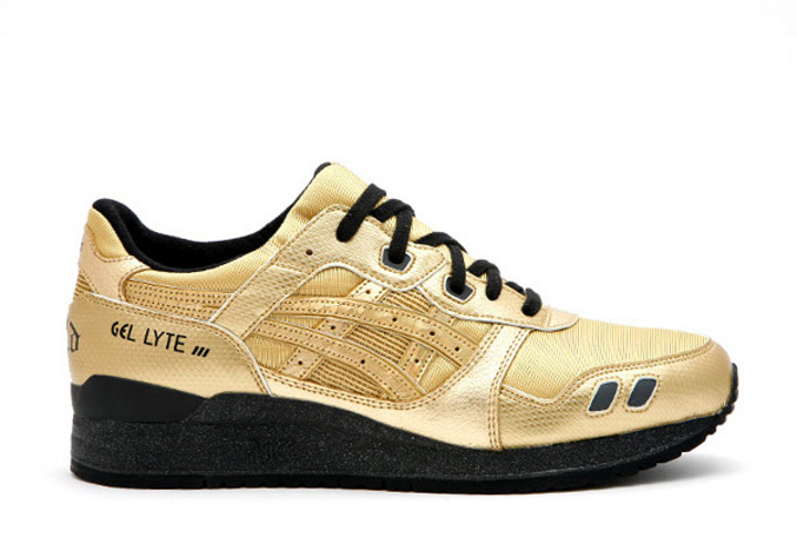 "Asics Gel Lyte 3 x David Z ""Steel Gold"""
