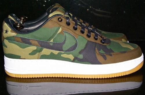 Nike Air Force 1 Bespoke Camo