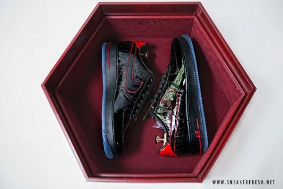 Nike Air Force 1 Bespoke Paul Nguyen Wedding