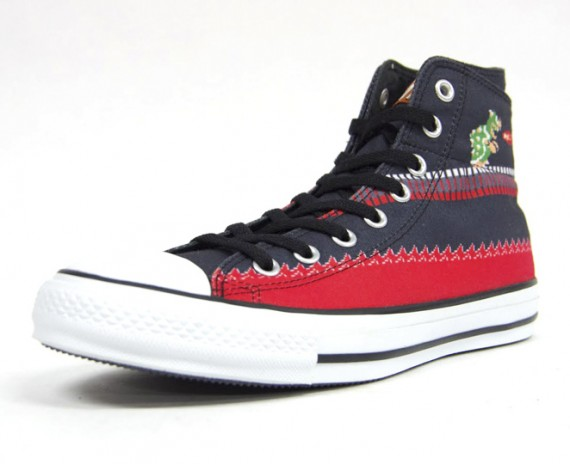 "Converse Chuck Taylor All Star x Super Mario Bros ""double upper"""