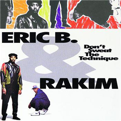 Eric B et Rakim - Nike Air Force 1