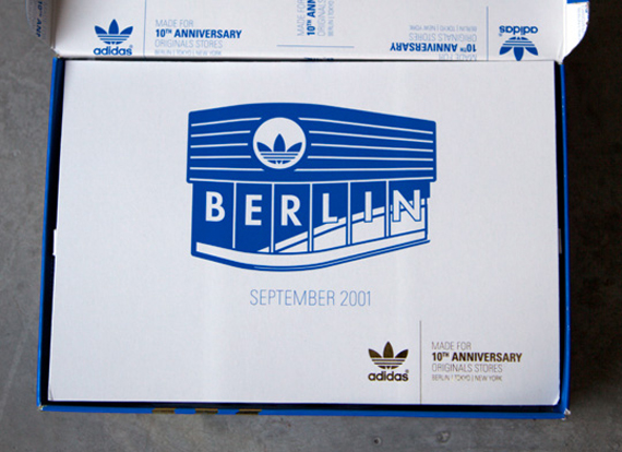 Adidas Originals Berlin Flagship 10th Anniversary