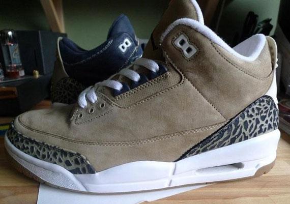 Air Jordan 3 Khaki