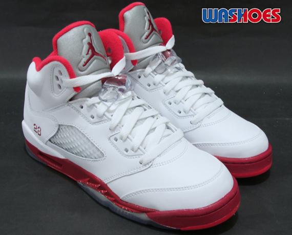 Air Jordan (V) 5 Retro Legacy Red pour femmes
