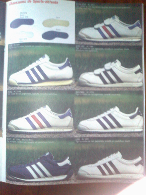 chaussure adidas anciennes modele