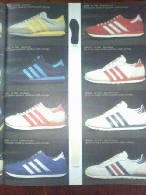 solamente Ordenado Gran roble  Adidas le catalogue de 1984 : Adidas Tampico, Zebra, Gym, Rom, Mustang