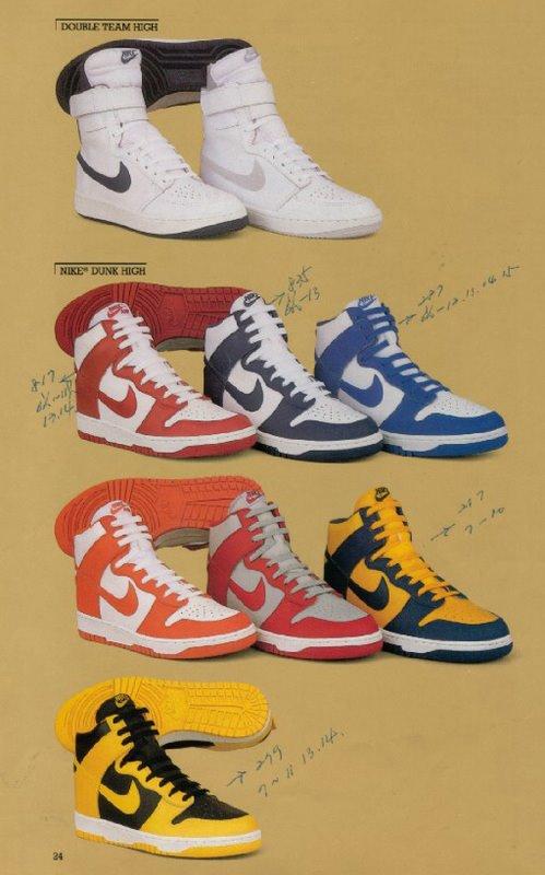 basket nike 1985