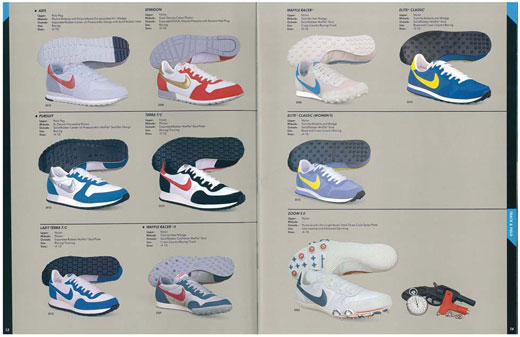 sports shoes eb56e bc23e ... Vintage - Catalogue Nike de 1985