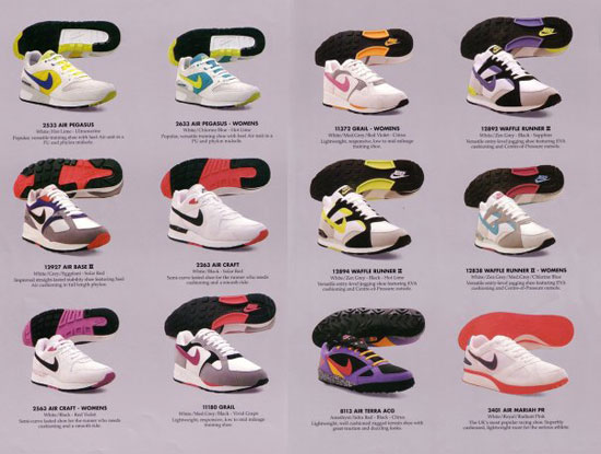 outlet store c0cfa e77b6 ... Catalogue Nike printemps 1991