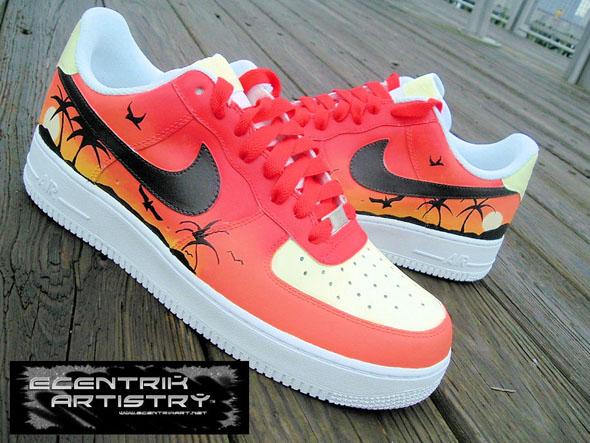 Nike Air Force 1 - Summer Love Tropical Sunset