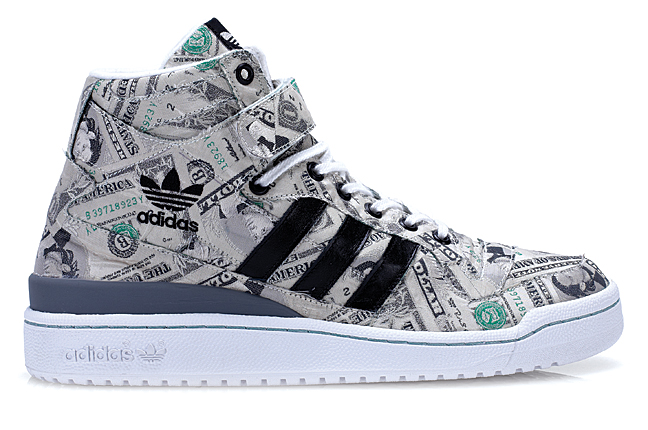 Adidas Forum Mid Money Jeremy Scott