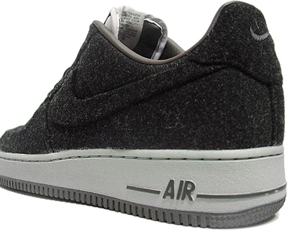 nouveau concept a1934 06c08 Nike Air Force 1 VT (Vac Tech) Wool, Wheat Suede & Liberty ...