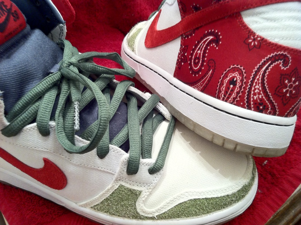Nike Dunk High Cheech Chong
