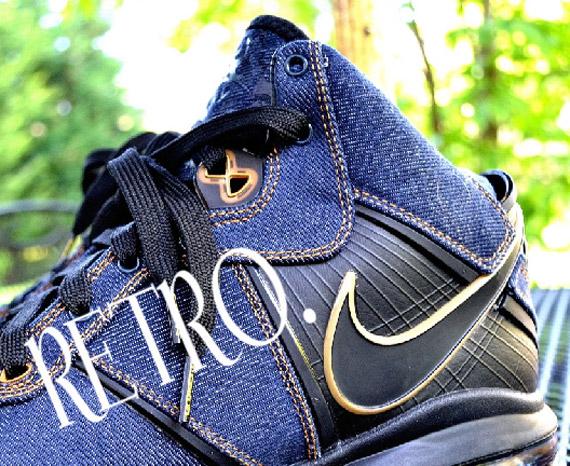 Nike Air Max 9 Lebron James x Clark Kent - Denim