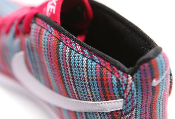 Des sneakers bien pimentées s'inspirant des couvertures mexicaines….