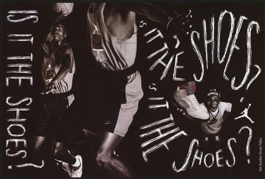 Vintage - Publicité Air Jordan 1988-1991