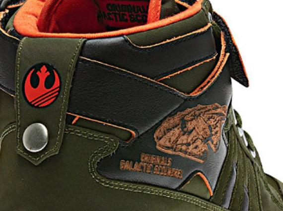 Adidas Originals Star Wars Forum Mid Han Solo