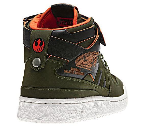 Star Wars x Adidas Originals Forum Mid Han Solo