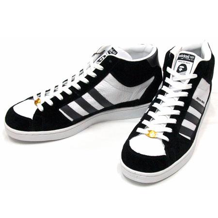 Adidas Super Ape Skate Black White