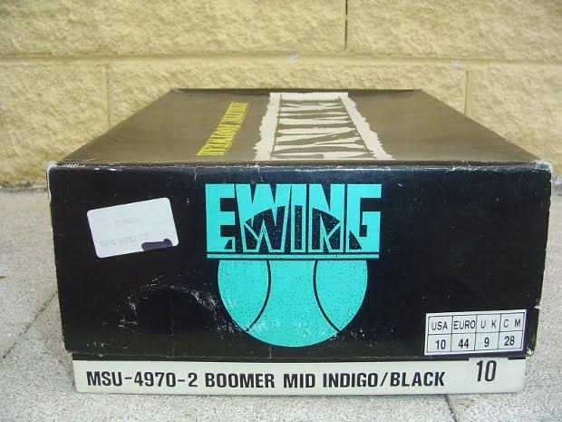 Patrick Ewing Boomer Mid Indigo Black