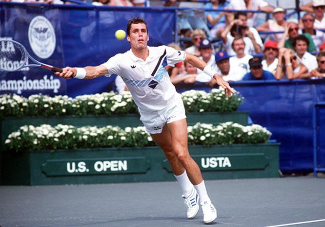 Ivan Lendl en Adidas Lendl Supreme