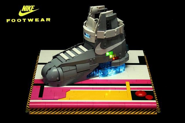 La Nike Mag version Lego