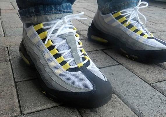 nike air max 95 tour yellow
