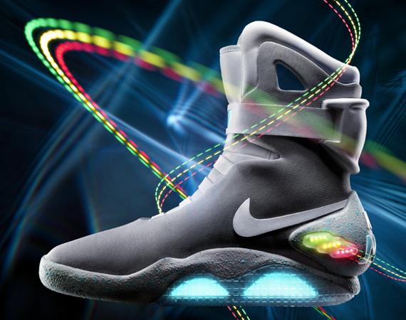La Nike Mag avec un laçage automatique en 2015 ?