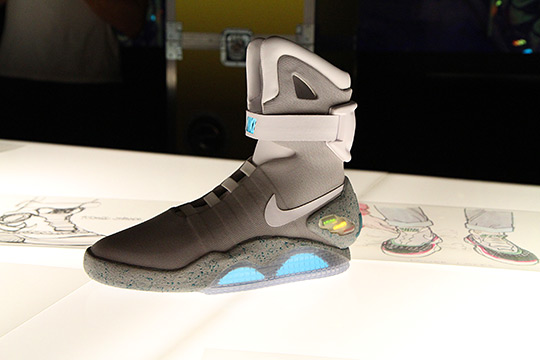 Nike Air Mag Marty McFly 2011 - Retour vers le futur