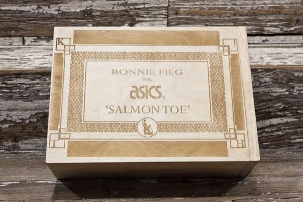 Asics Gel Lyte 3 Salmon Toes Ronnie Fieg