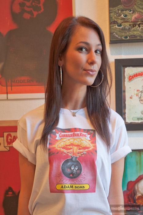 Tee shirt The Hundreds x Les Crados - Adam Bomb