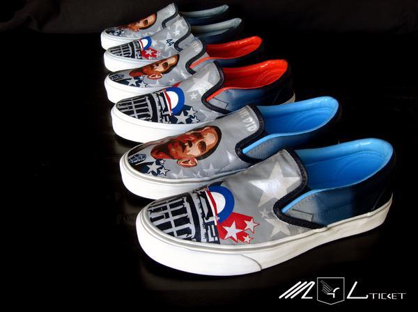 Les sources d'inspiration : Barack Obama et les sneakers