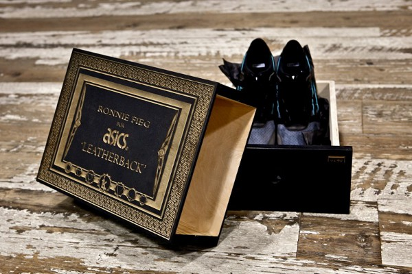Asics Gel Lyte 3 Leather Backs boîte