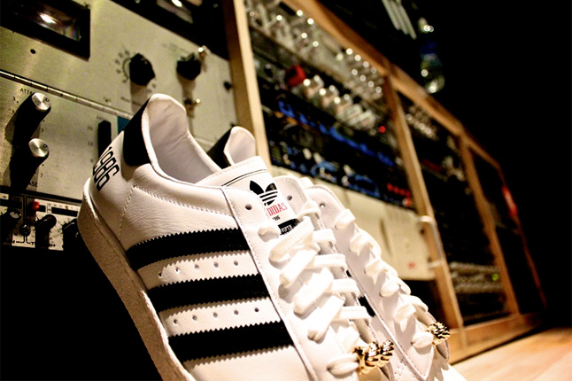 "Run Dmc x Adidas Superstar 80's ""My Adidas"""