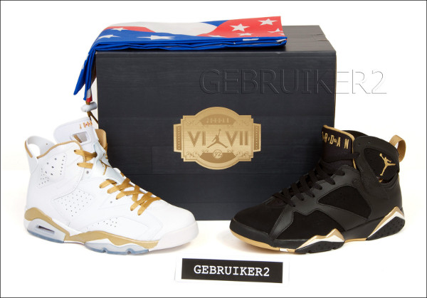 Air Jordan Golden Moment boîte