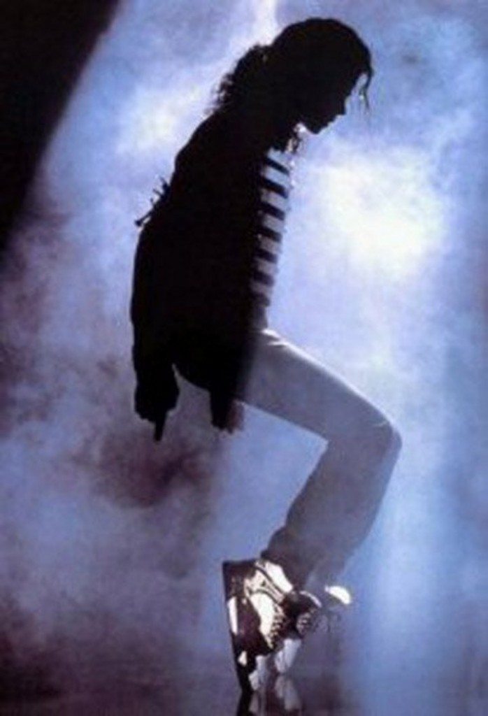 Michael Jackson en baskets La Gear
