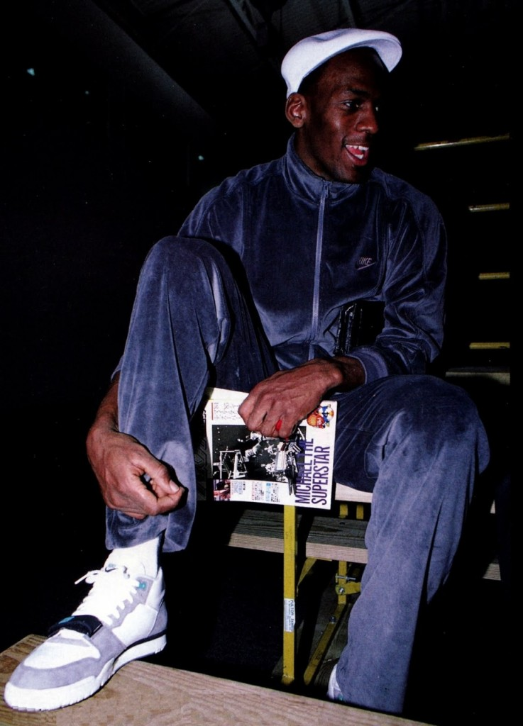 Michael Jordan en Nike Air Trainer 1