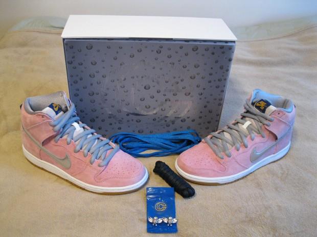 Nike Dunk High Concepts boîte